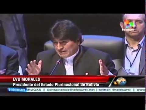 Moción de Cierre - Evo Morales Ayma, Presidente del Estado Plurinacional de Bolivia