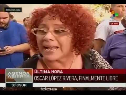 Primeras declaraciones de Oscar López Rivera al estar finalmente libre