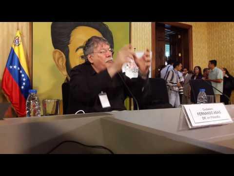 Fernando Buen Abad - XV Encuentro Internacional de la Red en Defensa de la Humanidad - Ccs 7/3/2017