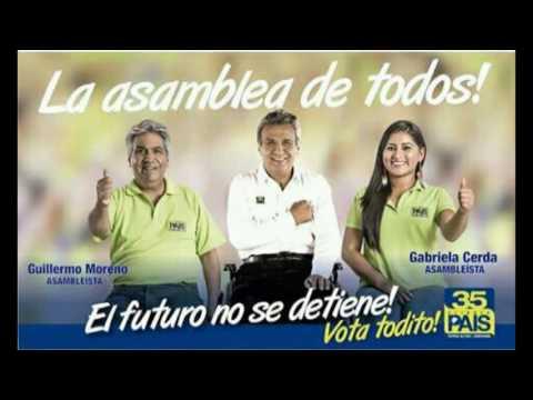 Fotos campaña electoral de la Revolución Ciudadana del Napo.