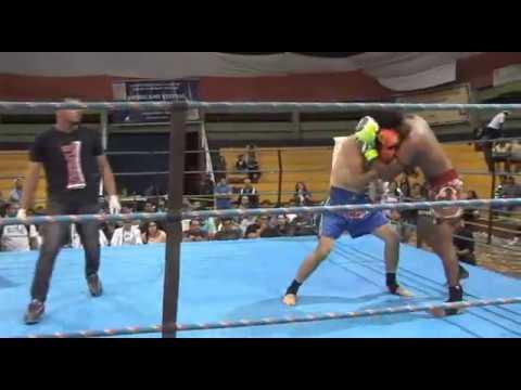 WENDIO SHAOKAN vs ALVARO TRUJILHO ( TITULO INTERNACIONAL PROFISSIONAL ISKA MUNDIAL)