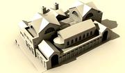 Римски терми - макет на сградата  2