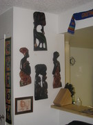 Hand carved wall Hangings