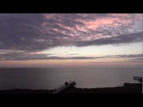 Cape Hatteras, NC -  Sunset Timelapse: Windsurfing Kiteboarding Paddleboarding Fall 2012