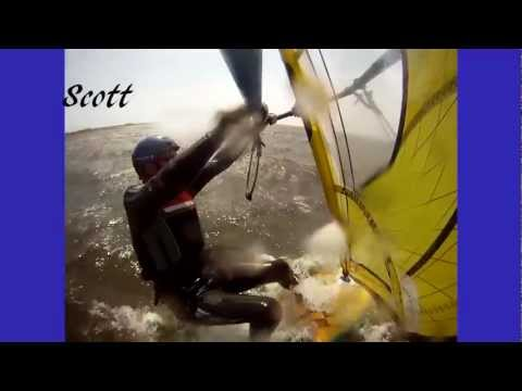 Windsurfing, Kite Boarding, Cape Hatteras, North Carolina, Spring 2012, Again-Secrets In Stereo