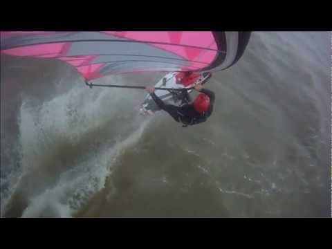 Windsurfing on Lake Erie from Sterling State Park