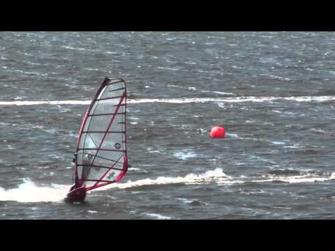 Windsurfing, Kiting, Cape Hatteras, NC, Fall 2010