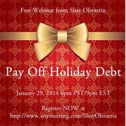 Free Credit Card Debt Webinar