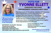 YVONNE ELLETT FOR CHAIR OF EMPOWERMENT CONGRESS WEST AREA