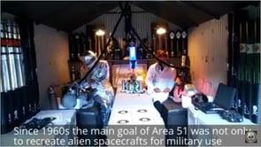 エリア51の異星人の映像が初めてテレビで公開された!