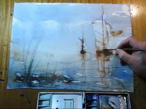 The Wet Watercolor
