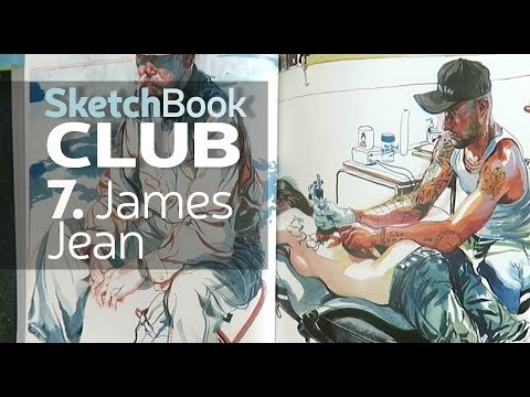 A tour of James Jean's sketchbook