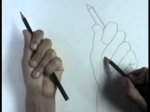 Contour Line Drawing Tutorial