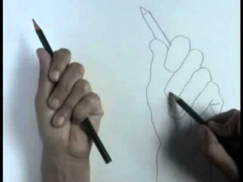 Contour Line Drawing Tutorial