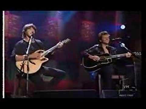 Jon Bon jovi/Ritchie Sambora-Wanted Dead or Alive-Unplugged