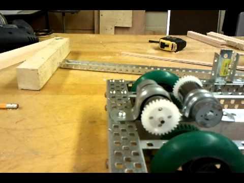 gears on my robot :D