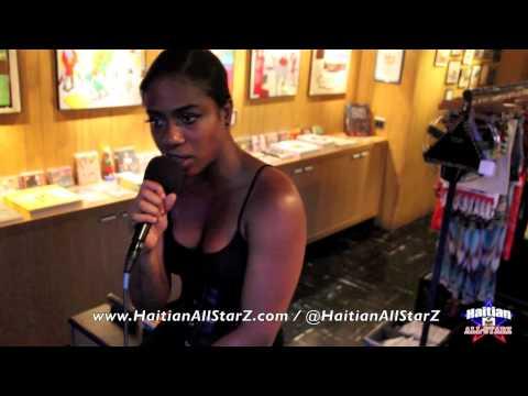 2 Turntables & 1 Mic (Farrah Burns Freestyle on Haitian All-StarZ Radio TV) Part.2