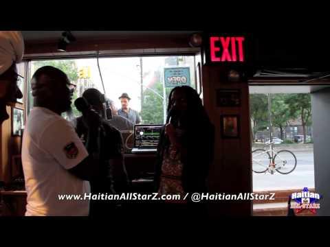 "Renée Neufville from R&B Group ""Zhané"" on (Haitian All-StarZ Radio TV)"