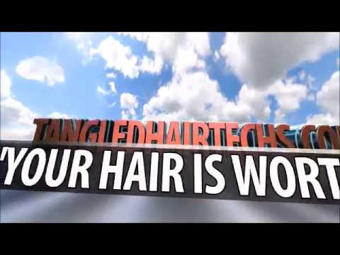 Hair Has A Voice- Saving Severely Matted Tangled Hair