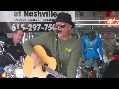 Richard Trest. entertaining at Bost Harley Davidson