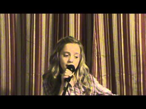 "Chloe Channell singing ""Kansas City"""