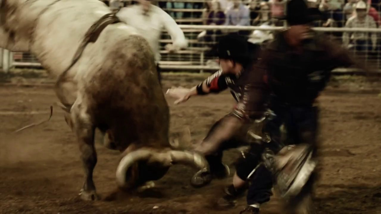 Against The Grain: Cowboy Protection by Professional Bullfighter Brandon Duncan
