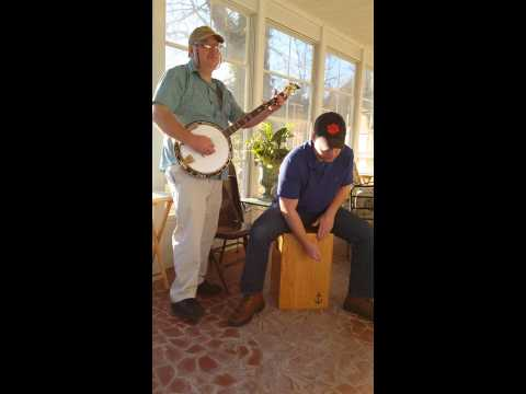 The Wayfaring Stranger on Banjo and Anchor Cajon