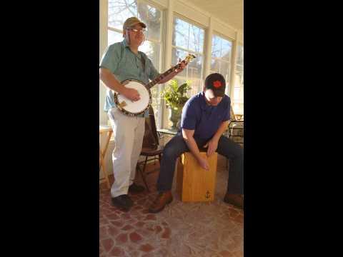 The Wayfaring Stranger on Banjo and Anchor Cajon