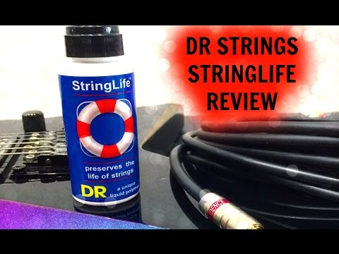 Shredder's Guitar Lounge: DR Strings String Life Liquid Guitar String Polymer Review