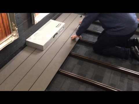 Fastest Decking installation in the world by Exterpark Tech