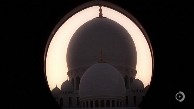 Sheikh Zayed Grand Mosque Projections - Abu Dhabi, U.A.E.