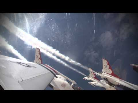 U.S. Air Force Thunderbirds, Delta Roll, Practice/Low Show