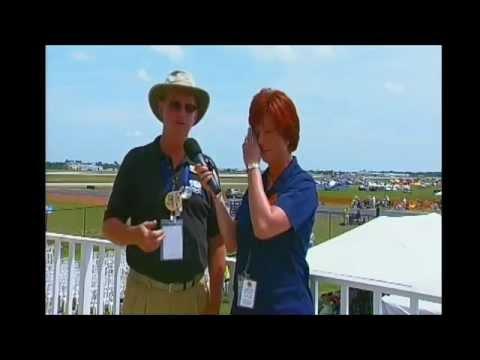 14040604 E1  Field Interviews Announcer Stand Lori John Iskra