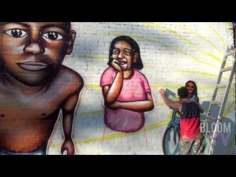 """BloomTV: Making of the Mural """"Felipe's Story"""""""