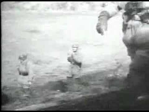 Anzio Bridgehead: German Paratroopers and heavy Artillery