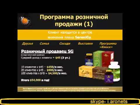 SereniGy - ПРЕЗЕНТАЦИЯ БИЗНЕСА (RUSSIAN)