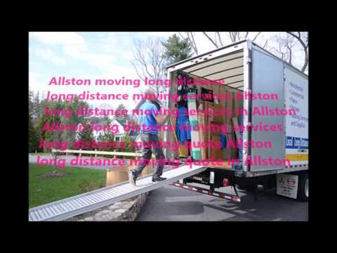 Allston Long Distance Moving Quote