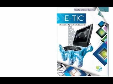 Texto de Computación para Cuarto común E-tic