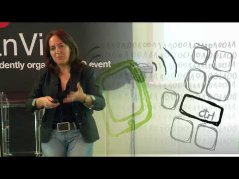 La movilidad en red, otra forma de aprender: Tíscar Lara at TEDxGranVia