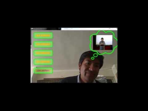 sistema Creativo de Realidad Aumentada para el Lenguaje de Señas