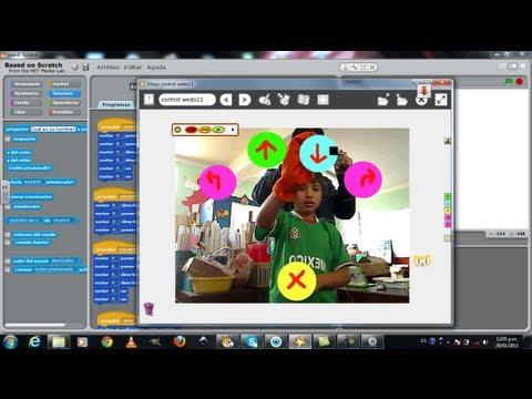 Realidad Aumentada con Etoys, Scratch y WEDO