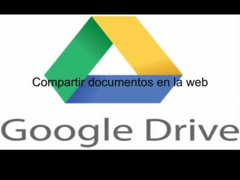 Subir y compartir un documento a googledrive 優しさ