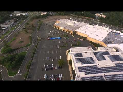 dji phantom 3 over ocean county mall in toms river nj