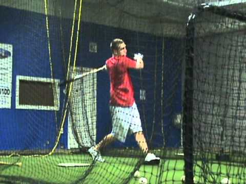 Todd Frazier Works Out at Toms River Sports Academy