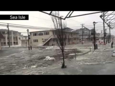 Severe flooding in Sea Isle City 1/23/16