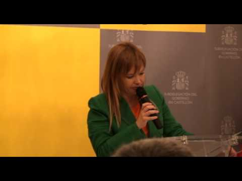 Leire pajín- Gran Cruz al Mérito Agrario a Joan Brusca
