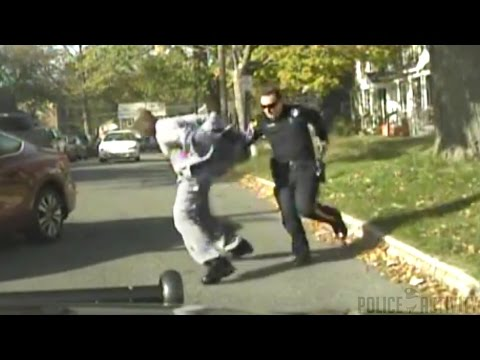 Dashcam Video Of Officer-Involved Shooting in New Jersey