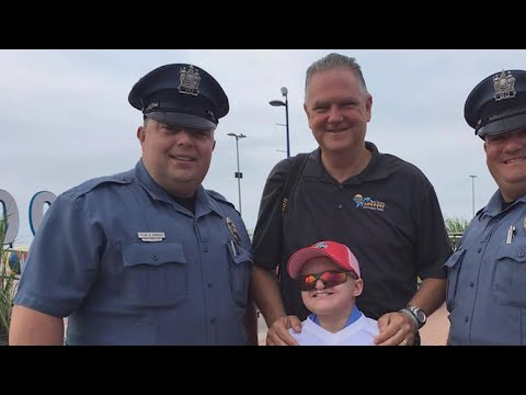 9-year-old with rare disease sworn in as N.J. police officer