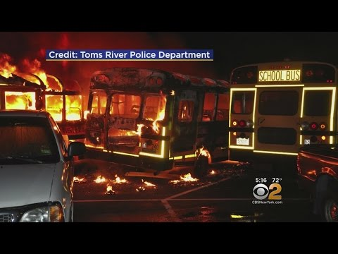 Toms River School Buses Destroyed By Fire