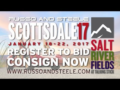 Russo and Steele Arizona Car Week 2017